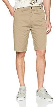 "Hurley Men's Apparel Men's Icon Chino Regular Fit 21"" Shorts"