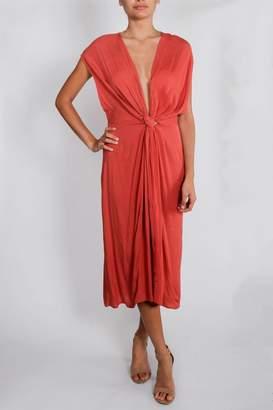 Cotton Candy Deep-V Chic Dress