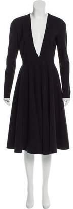 Philosophy di Lorenzo Serafini Long Sleeve Midi Dress