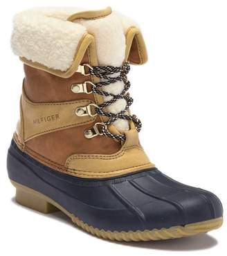 Fur Lined Duck Boots Shopstyle