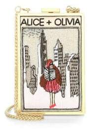 Alice + Olivia Sophia New York Vintage Clutch