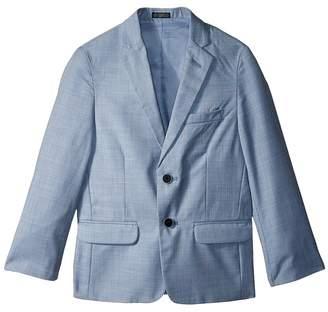 Calvin Klein Kids Striated Sharkskin Jacket Boy's Coat