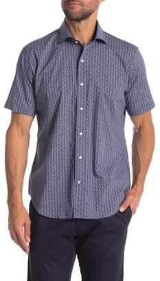 Peter Millar Roman Holiday Short Sleeve Regular Fit Shirt
