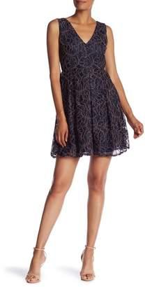 NSR Lace Fit & Flare Dress