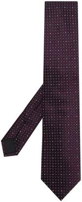 HUGO BOSS dotted tie