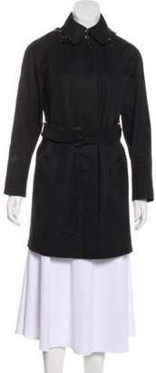 Burberry Collar Short Coat