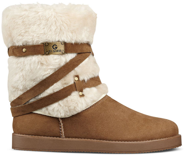 G by GUESS Archy Faux-Fur Cold Weather Boots 2