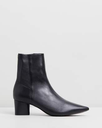 Camilla And Marc Viola Stretch Ankle Boots