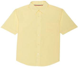 French Toast Short Sleeve Classic Uniform Dress Shirt- Toddler Boy