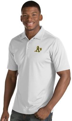 Antigua Men's Oakland Athletics Inspire Polo