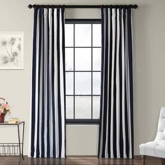 Eff EFF 1-Panel Cabana Lined Window Curtain