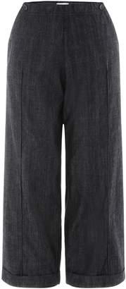 DKNY Girls Wide Leg Denim Trousers