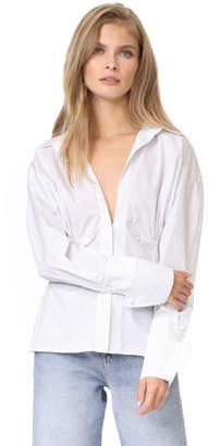 Jacquemus Paula Shirt $445 thestylecure.com