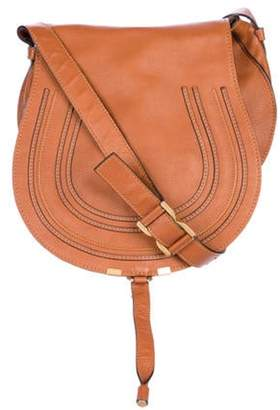 Chloé Chloé Small Marcie Crossbody Bag gold Chloé Small Marcie Crossbody Bag