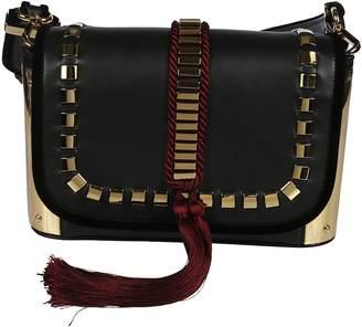 Alberta Ferretti Studded Shoulder Bag