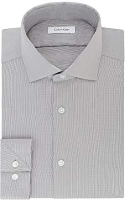 Calvin Klein Men's Non Iron Stretch Slim Fit Dress Shirt