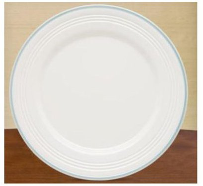 Lenox 11-in. Tin Can Alley Four Degree Dinner Plate, Blue