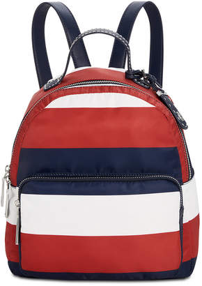 Tommy Hilfiger Julia Rugby Stripe Backpack