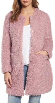 Women's Via Spiga Reversible Faux Fur Coat $210 thestylecure.com