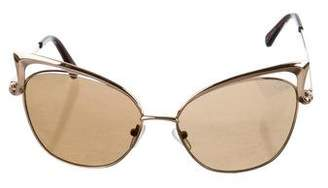Quay Lana Cat-Eye Sunglasses