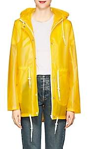 Barneys New York WOMEN'S MATTE HOODED RAINCOAT