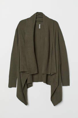 H&M H&M+ Knitted cardigan - Green