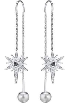 Swarovski Jewellery Ladies Rhodium Plated Fantastic Earrings 5230603