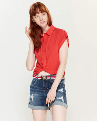 Almost Famous Crave Fame By Twisted Short Sleeve Top