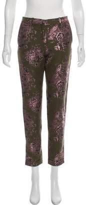 DAY Birger et Mikkelsen Floral Metallic-Accented Pants