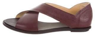 Balenciaga Leather Flat Sandals