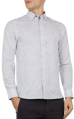 cf3fe00c5 Ted Baker Leemar Floral Print Slim Fit Shirt