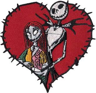 Loungefly Nightmare Before Christmas Jack Skellington and Sally Disney Iron On Patch