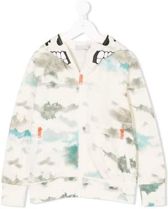 Stella McCartney Biz Clouds zipped hoodie