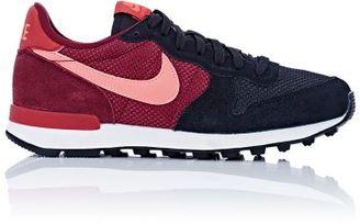 Nike Women's Internationalist Sneakers-BLACK $85 thestylecure.com