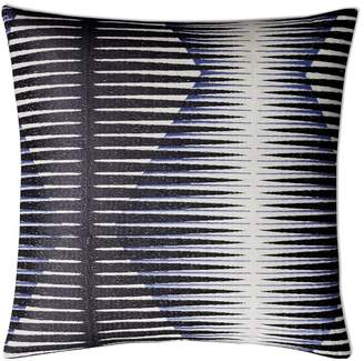 Williams-Sonoma Illusive Embroidered Pillow Cover, Navy