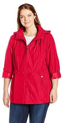 Details Women's Plus Size Water Resistant Jacket