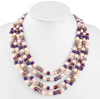 Liz Claiborne Womens Beaded Necklace