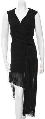 Issa Textured Sleeveless Dress