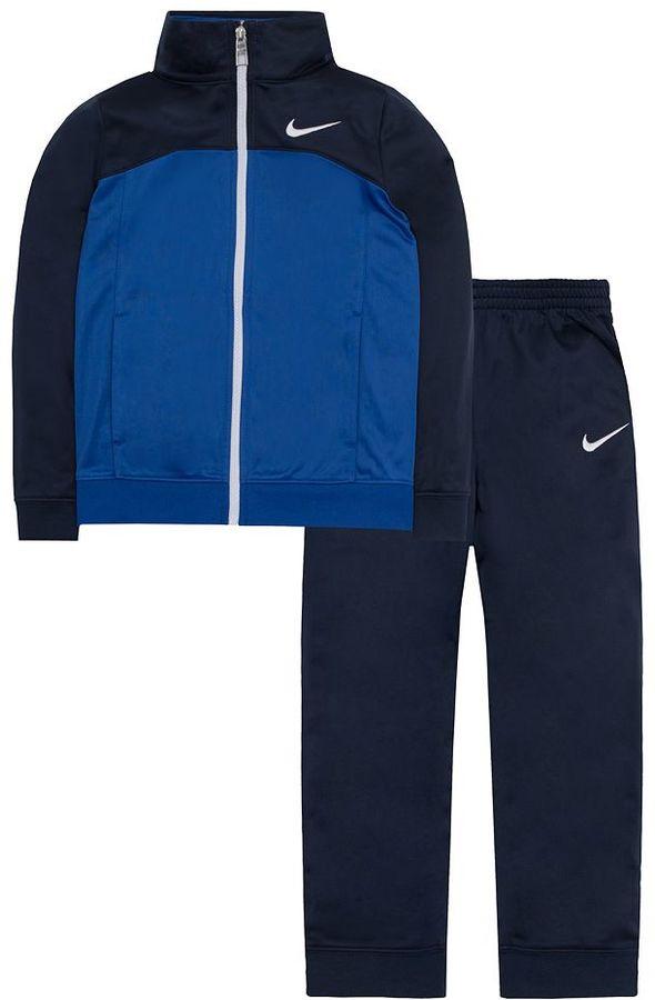 Boys 4-7 Nike Tricot Tracksuit Jacket & Jogger Pants Set
