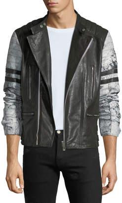 Belstaff Men's Ennis Hand-Wax Leather Jacket
