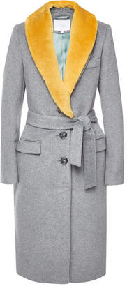 Lala Berlin Nila Coat with Wool Lapels