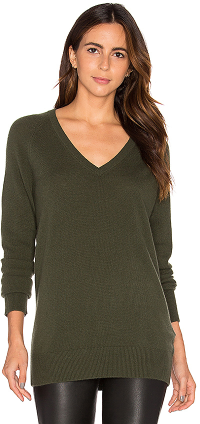 Equipment Equipment Asher V Neck Sweater