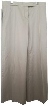 Christian Lacroix White Silk Trousers for Women Vintage