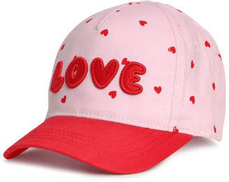 H&M Cotton Cap with Embroidery - Pink