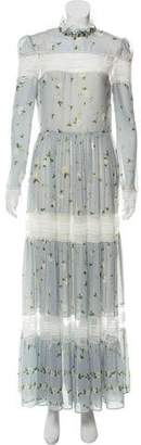 Philosophy di Lorenzo Serafini Silk Maxi Dress