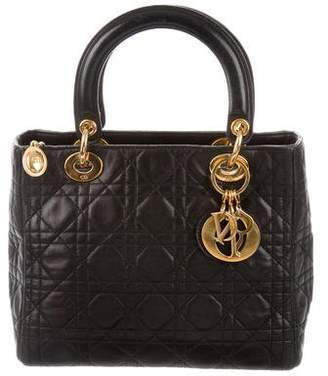 Christian Dior Cannage Lady Bag