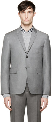 Thom Browne Grey Classic Suit Blazer $1,590 thestylecure.com