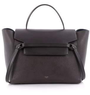 Celine Pre-owned: Belt Bag Pebbled Leather Mini.