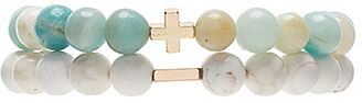 Ettika x CHARGED Bracelet Set in Metallic Gold. $36 thestylecure.com