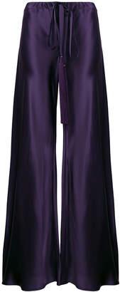 Roberto Cavalli high-waisted tassel palazzo trousers
